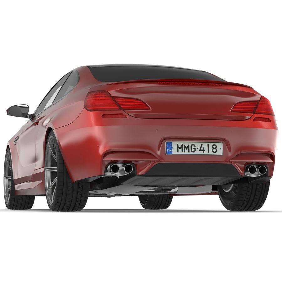 Generic Sedan royalty-free 3d model - Preview no. 8
