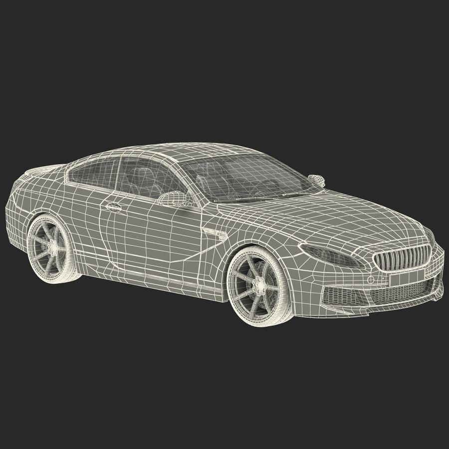 Generic Sedan royalty-free 3d model - Preview no. 35