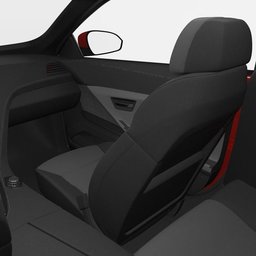 Generic Sedan royalty-free 3d model - Preview no. 26