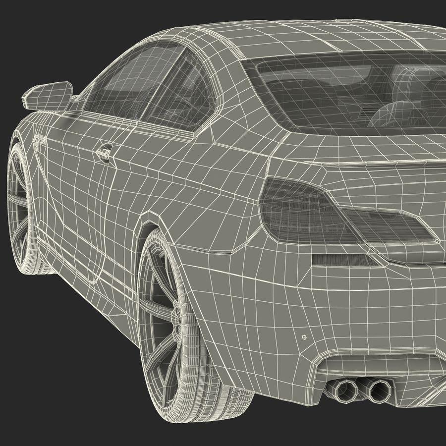Generic Sedan royalty-free 3d model - Preview no. 40