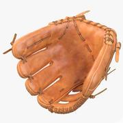 Guanto da baseball 3d model