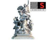 Monumento degli angeli di Vienna 3d model
