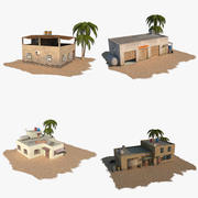 Arab Buildings Pack 3d model
