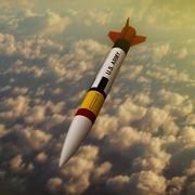 Foguete de mísseis Patriot 3d model
