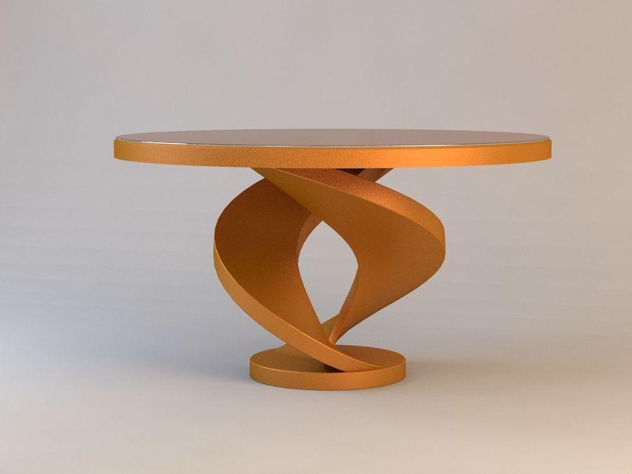 센터 테이블 royalty-free 3d model - Preview no. 3