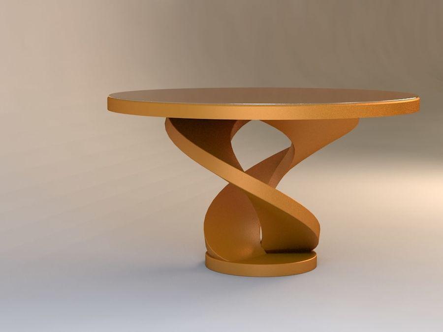 센터 테이블 royalty-free 3d model - Preview no. 2