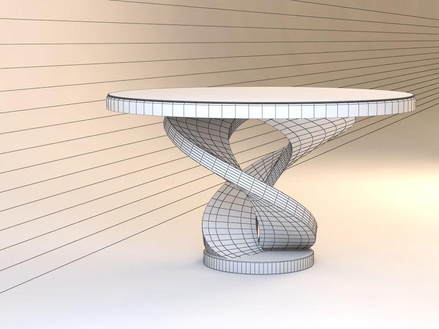 센터 테이블 royalty-free 3d model - Preview no. 6