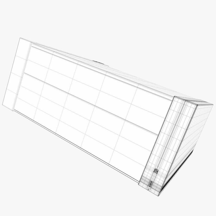 Drukarka 1 royalty-free 3d model - Preview no. 8