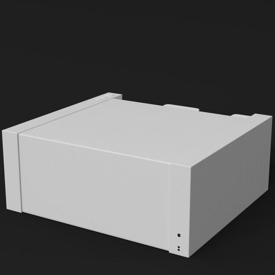 Drukarka 1 royalty-free 3d model - Preview no. 5