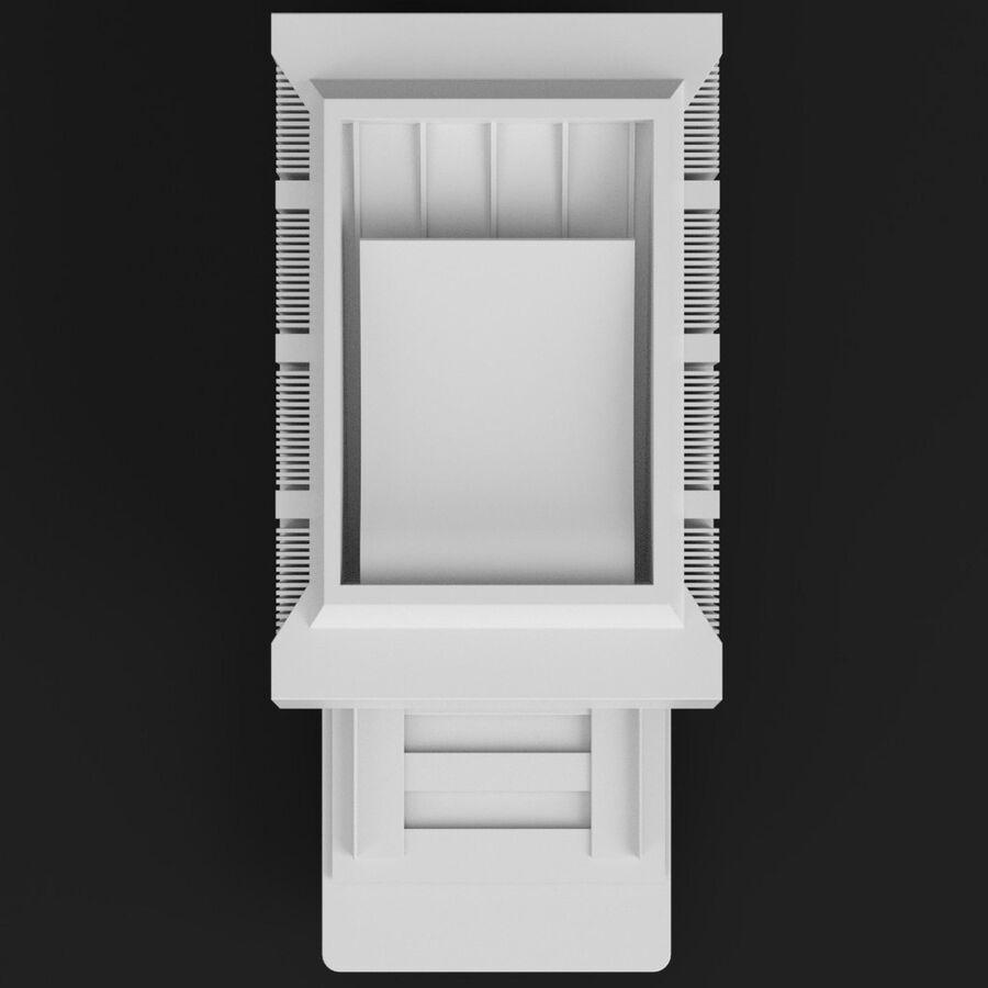 プリンター2 royalty-free 3d model - Preview no. 6