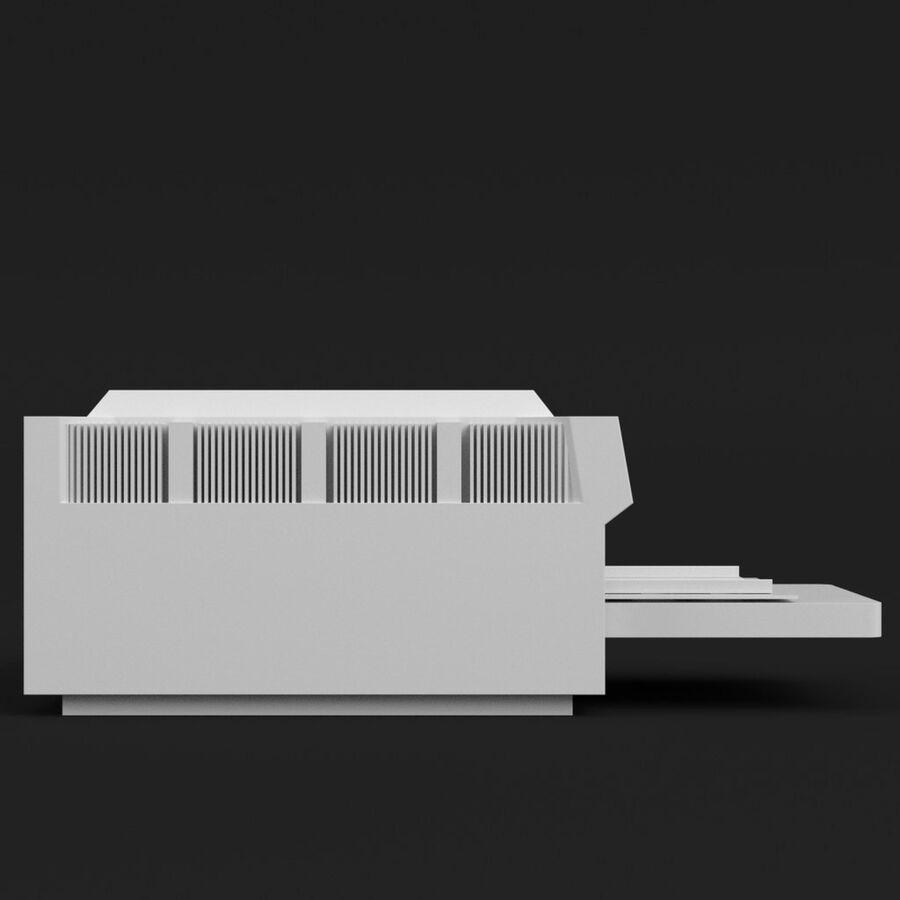 プリンター2 royalty-free 3d model - Preview no. 4