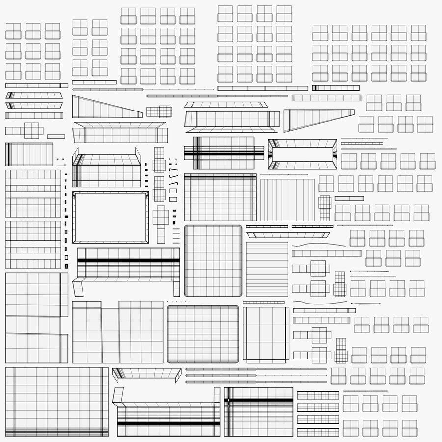 プリンター2 royalty-free 3d model - Preview no. 11