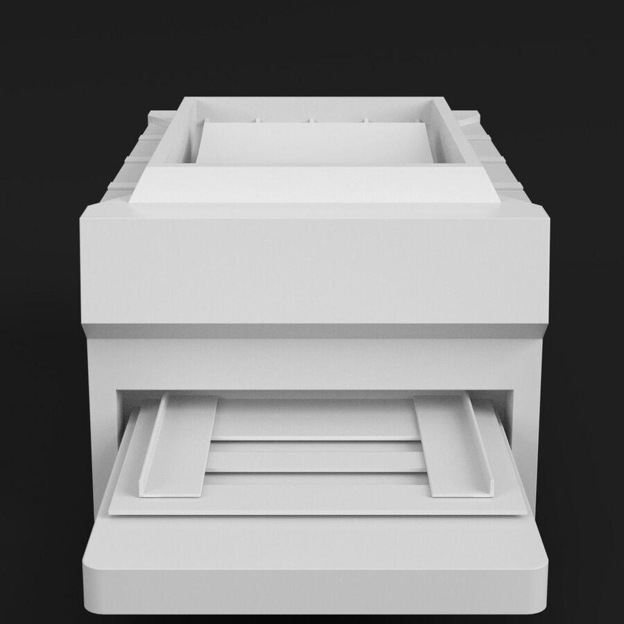 プリンター2 royalty-free 3d model - Preview no. 3