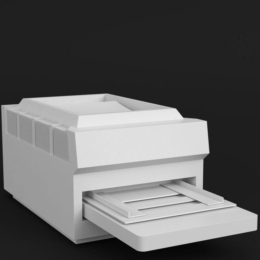 プリンター2 royalty-free 3d model - Preview no. 1