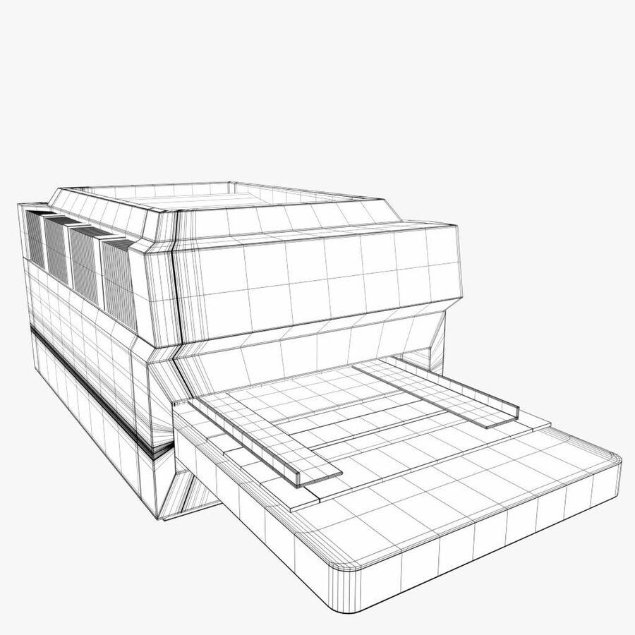 プリンター2 royalty-free 3d model - Preview no. 7