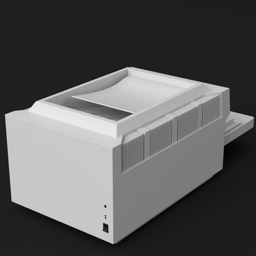 プリンター2 royalty-free 3d model - Preview no. 5