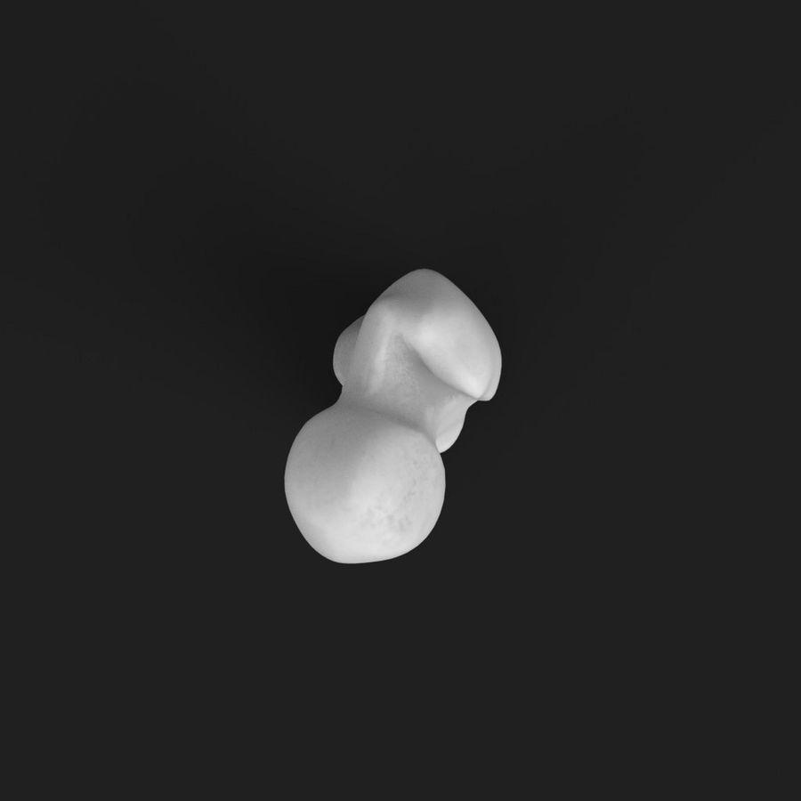 解剖学-人間の大腿骨 royalty-free 3d model - Preview no. 6