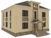 Classique de la maison 3d model