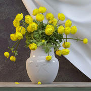 花瓶の花 3d model