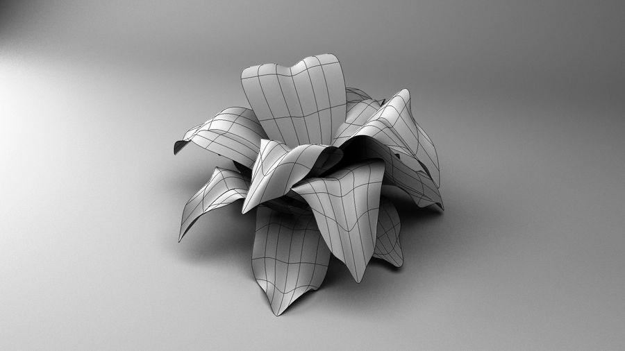 绿叶植物 royalty-free 3d model - Preview no. 5