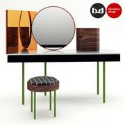 バルセロナデザインバニティテーブル 3d model