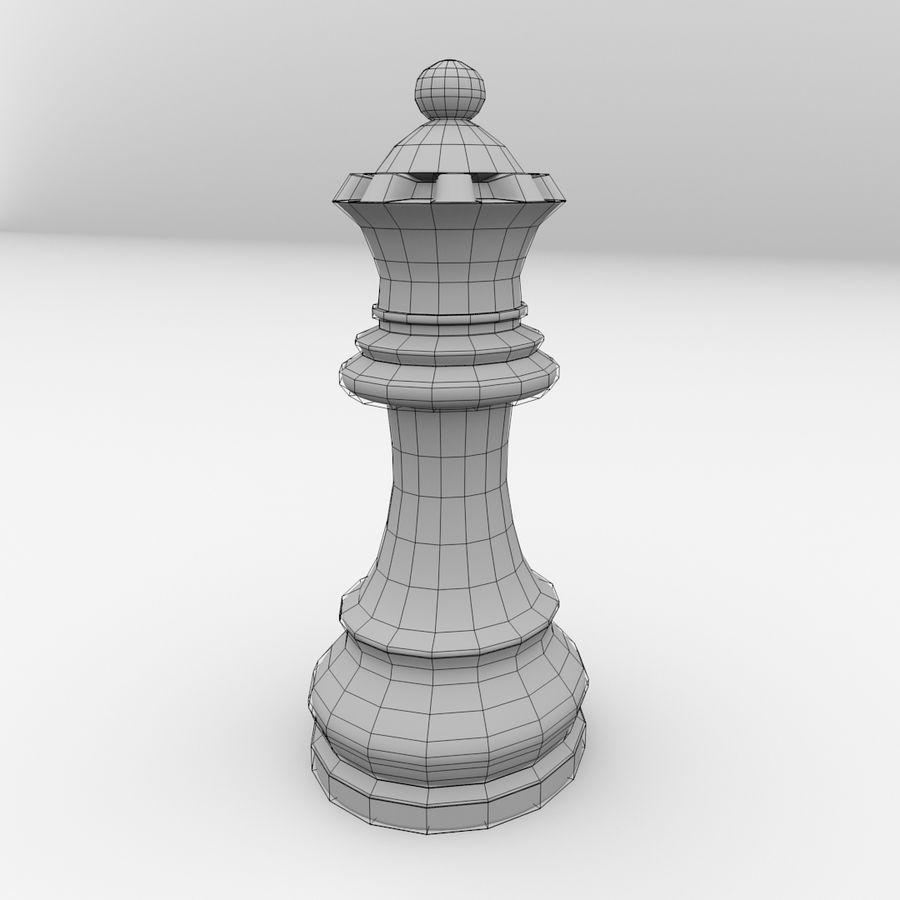 Reine royalty-free 3d model - Preview no. 5