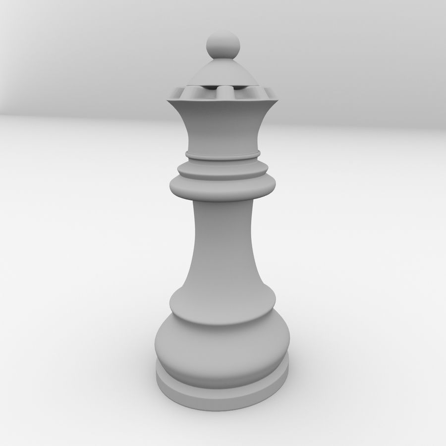 Reine royalty-free 3d model - Preview no. 4