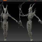 Szkieletor 3d model
