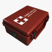 Trousse médicale de premiers soins 3d model
