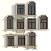 cadres de fenêtre 3d model