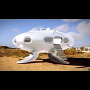 UFO flygande tefat 3d model