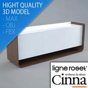 Vardagsrumsmöbler - Möbeldesign - Stam - Eric Jourdan - Ligne Roset 3d model