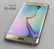 Samsung S6 edge 3d model