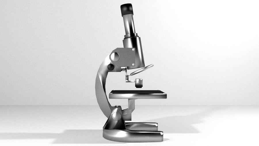 Tıbbi Ekipman Mikroskobu royalty-free 3d model - Preview no. 2