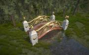 Puente de cupido modelo 3d