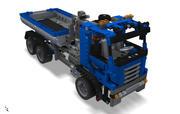 Camion Lego Technic 3d model