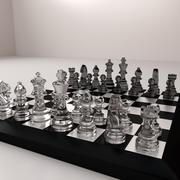 Scacchiera 3d model