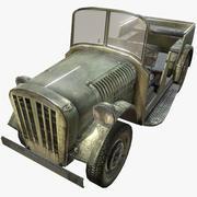 德国第二次世界大战军车 3d model