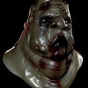 뚱뚱한 좀비 3d model