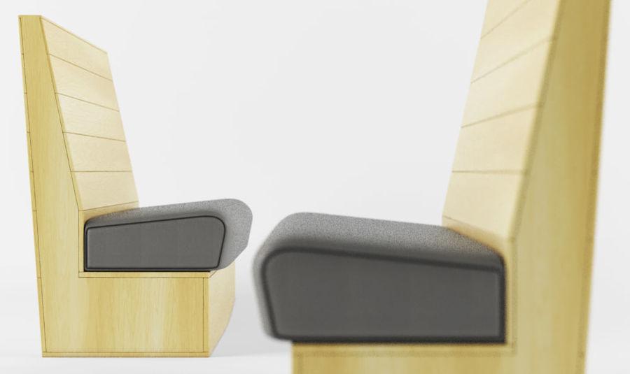 BANCO royalty-free 3d model - Preview no. 4