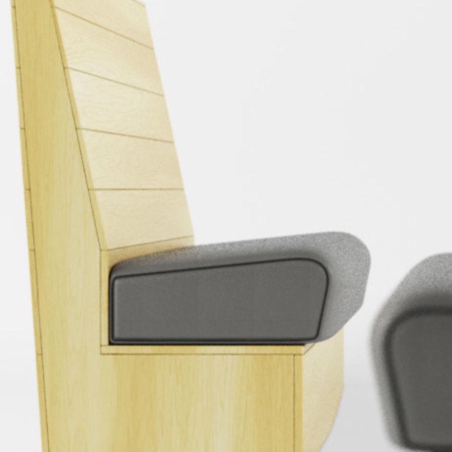 BANCO royalty-free 3d model - Preview no. 3