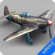 航空機ヤク-3 3d model