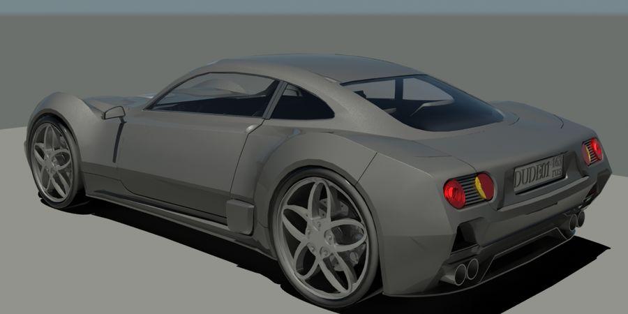 汽车概念 royalty-free 3d model - Preview no. 2