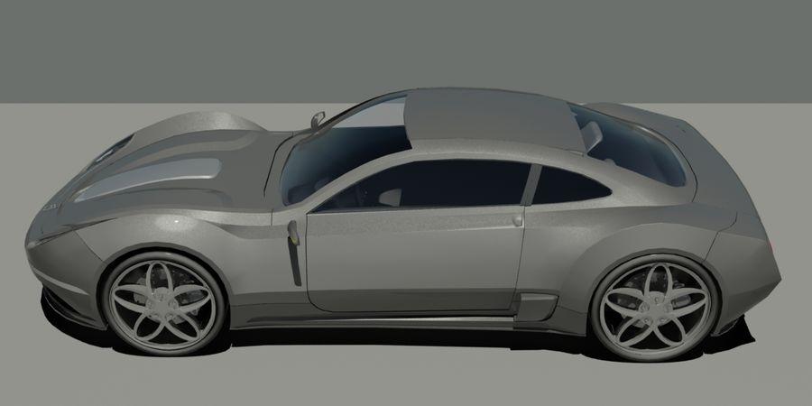 汽车概念 royalty-free 3d model - Preview no. 3