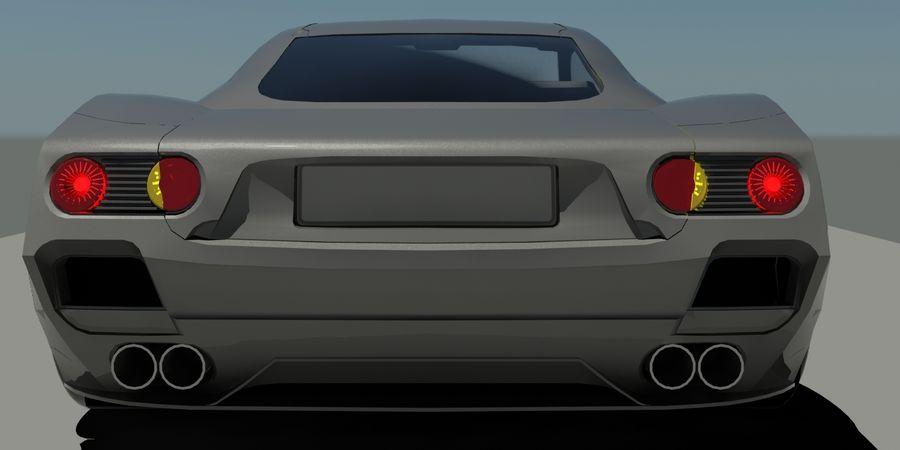 汽车概念 royalty-free 3d model - Preview no. 5