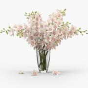 Buquê de orquídeas 3d model