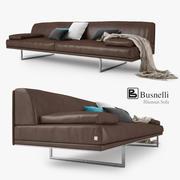 Sofá Busnelli Blumun 3d model