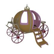 Кровать для перевозки Золушки 3d model