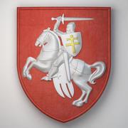 Старый герб Республики Беларусь 3d model