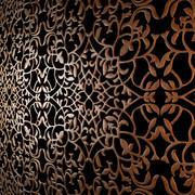 Houten decoratief plafond 3d model
